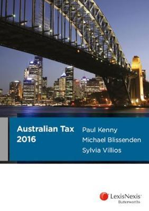 Cover of Australian Tax 2016