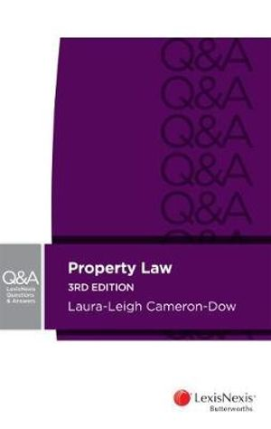Cover of Lexisnexis Questions and Answers - Property Law