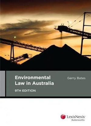 Cover of Environmental Law in Australia, 9th Edition