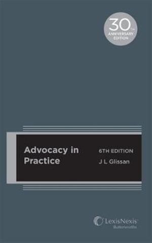Cover of Advocacy in Practice, 6th Edition (cased Edition)