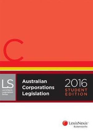Cover of LexisNexis Legislation Series