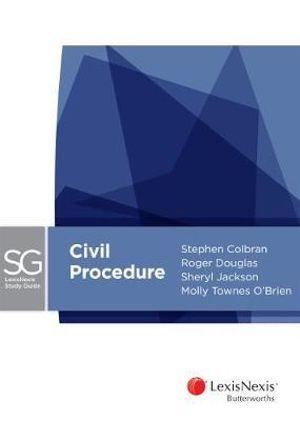 Cover of LexisNexis Study Guide - Civil Procedure