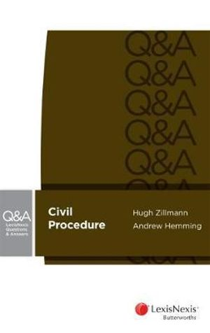 Cover of LexisNexis Questions and Answers - Civil Procedure