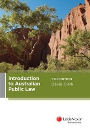 Cover of Introduction to Australian Public Law, 5th Edition