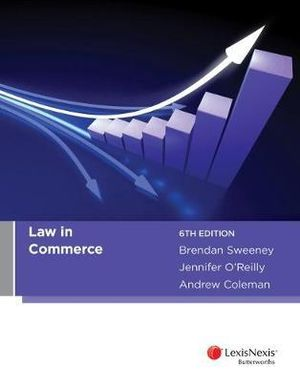Cover of Law in Commerce, 6th Edition