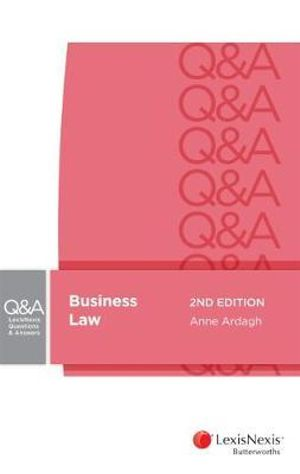 Cover of LexisNexis Questions and Answers Business Law, 2nd Edition