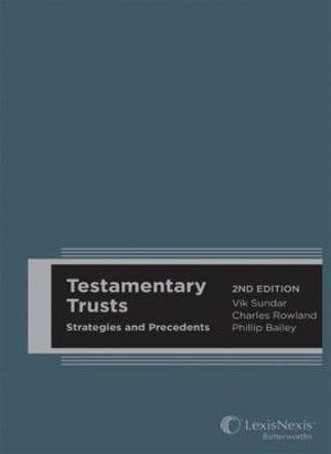 Cover of Testamentary Trusts