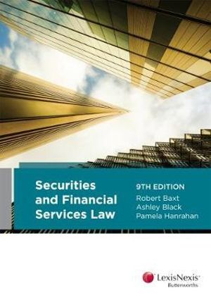 Cover of Securities and Financial Services Law, 9th Edition