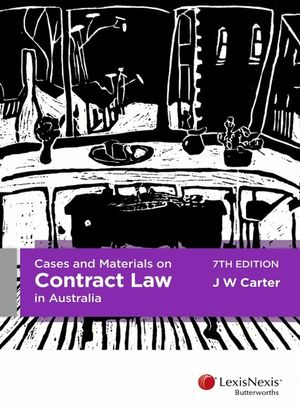 Cover of CASES AND MATERIALS ON CONTRACT LAW IN AUSTRALIA.