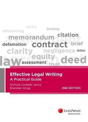 Cover of Effective Legal Writing