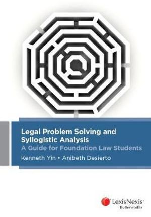 Cover of Legal Problem Solving and Syllogistic Analysis