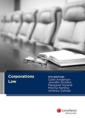 Cover of Corporations Law, 5th Edition