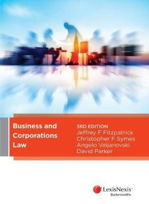 Cover of Business and Corporations Law, 3rd Edition