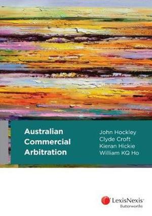 Cover of Australian Commerical Arbitration