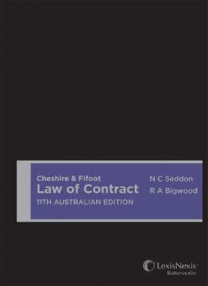 Cover of Cheshire & Fifoot Law of Contract, 11th Australian Edition