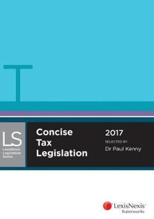 Cover of Concise Tax Legislation 2017