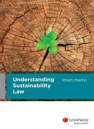 Cover of Understanding Sustainability Law