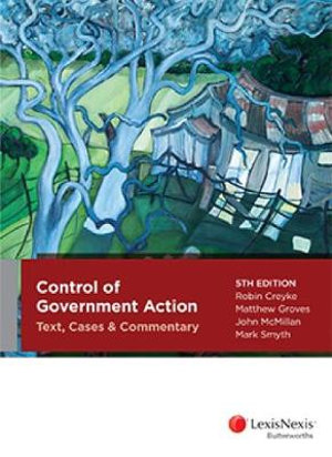 Cover of Control of Government Action: Text Cases and Commentary