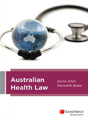 Cover of Australian Health Law