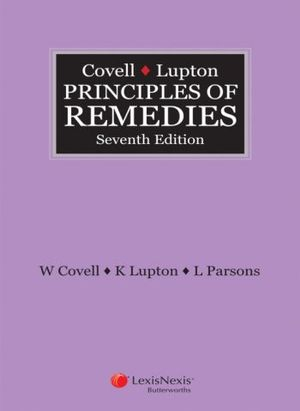 Cover of Covell & Lupton Principles of Remedies