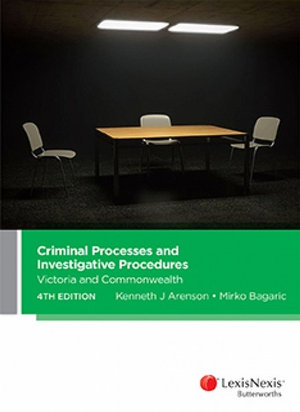 Cover of CRIMINAL PROCESSES AND INVESTIGATIVE PROCEDURES