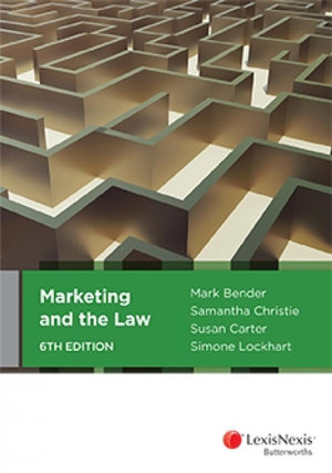 Cover of MARKETING AND THE LAW, 6TH EDITION.