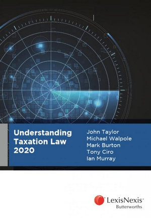 Cover of UNDERSTANDING TAXATION LAW.