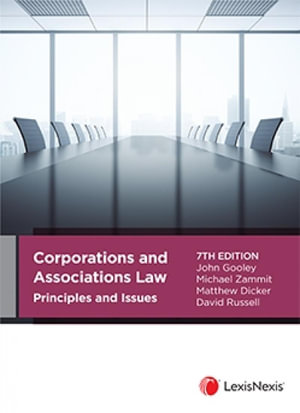 Cover of CORPORATIONS AND ASSOCIATIONS LAW PRINCIPLES AND ISSUES, 7TH EDITION.