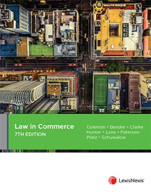 Cover of LAW IN COMMERCE, 7TH EDITION.