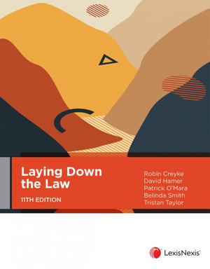 Cover of LAYING DOWN THE LAW, 11TH EDITION.