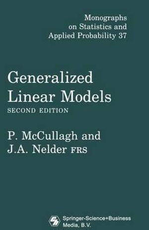 Cover of Generalized Linear Models, Second Edition