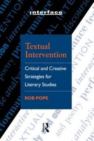 Cover of Textual Intervention