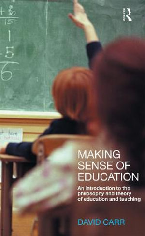 Cover of Making Sense of Education