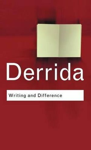 Cover of Writing and Difference