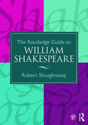 Cover of Routledge Guide To William Shakespeare