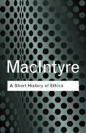 Cover of A Short History of Ethics