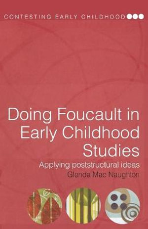 Cover of Doing Foucault in Early Childhood Studies