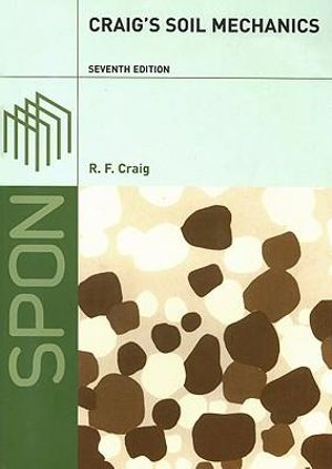 Cover of Craig's Soil Mechanics, Seventh Edition
