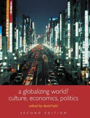 Cover of A Globalizing World?