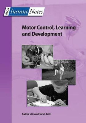 Cover of Motor Control, Learning and Development