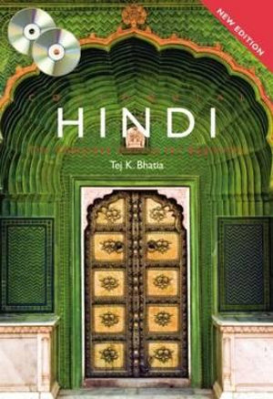 Cover of Colloquial Hindi. Book + CD