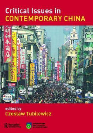 Cover of Critical Issues in Contemporary China