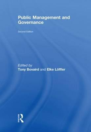 Cover of Public Management and Governance, Second Edition