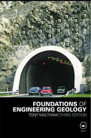 Cover of Foundations of Engineering Geology, Third Edition