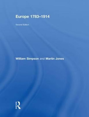 Cover of Europe, 1783-1914