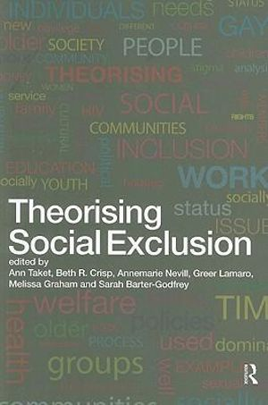 Cover of Theorising Social Exclusion