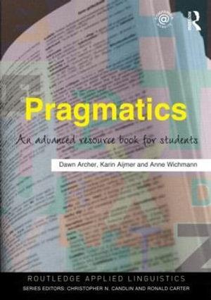 Cover of Pragmatics