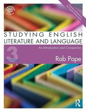 Cover of Studying English Literature and Language
