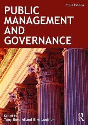 Cover of Public Management and Governance