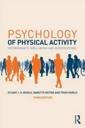 Cover of Psychology of Physical Activity